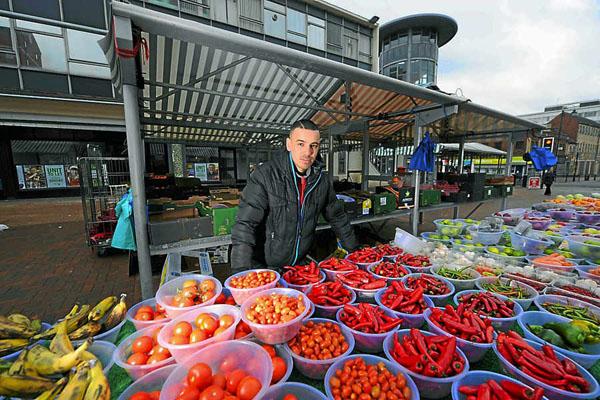 Открытие ларька по продаже овощей и фруктов