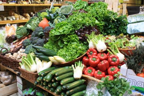 Свежие овощи как идея