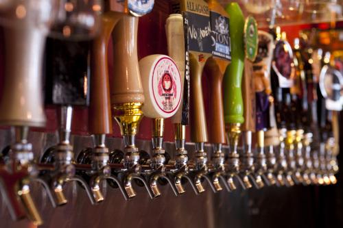 Торговля различным пивом
