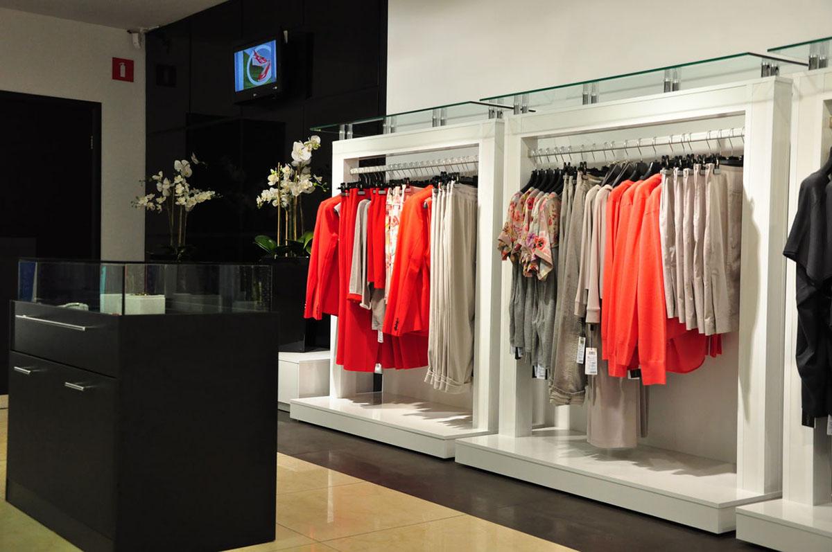 Оборудование и оформление магазина одежды