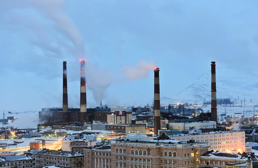 Завод Норильский никель