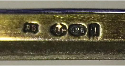 пробы серебра 925 в США